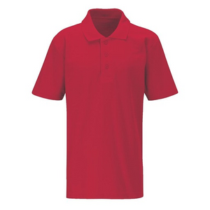 RED POLO FOR JAMES WATT PRIMARY SCHOOL