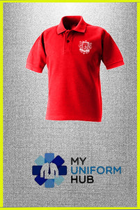 Red Truth Polo for Nishkam High
