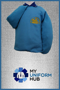 Turquoise Sweatshirt for Boys for St Michaels Primary CofE Academy Handsworth