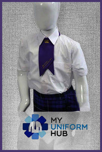 Purple Girls Cravat King Solomon High School
