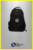 Black Bookbag Rucksack for King Solomon High