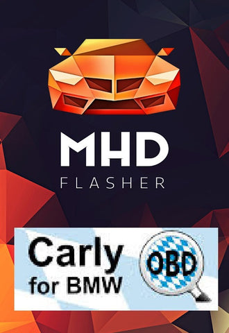 Carly/MHD package - K+DCAN cable + OTG - Bimmerstuff - 1