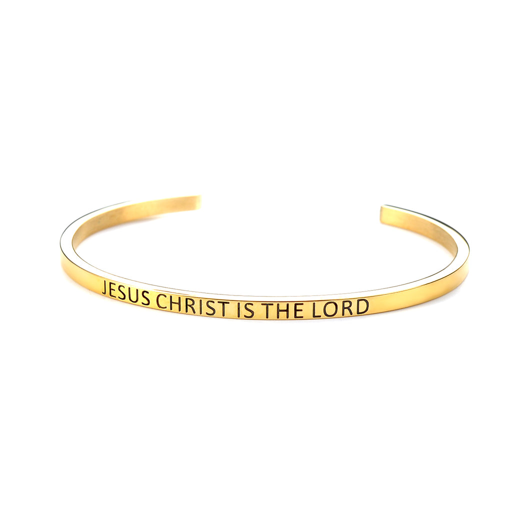 Jesus Christ Is The Lord Bracelet