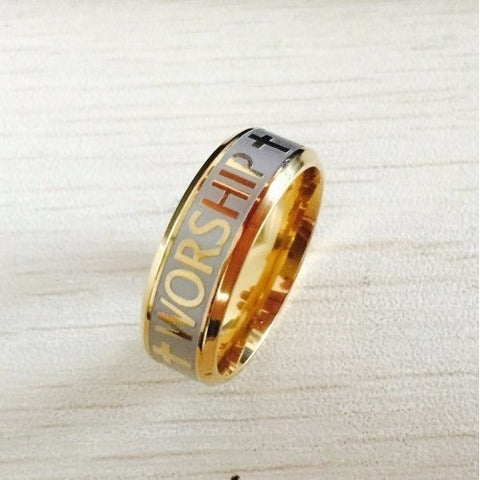 Rings - FREE Gold Worship Ring - Just Pay Shipping