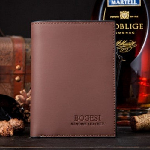 Men's Coin Purse Wallet Holder Bogesi Dull Clutch - fashioniworld