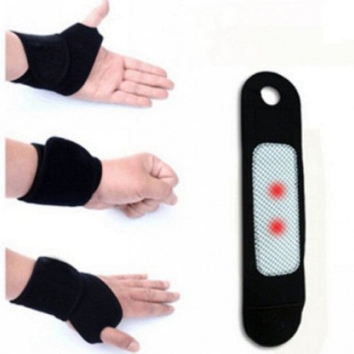 Tourmaline Self Heating Magnetic and Therapy Wrist Support