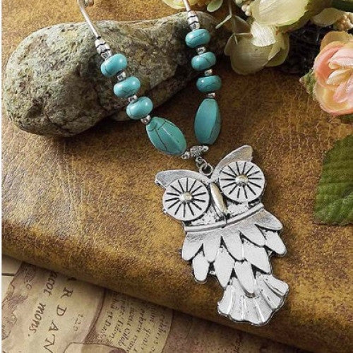 New Design Alloy Owl Necklaces & Pendants