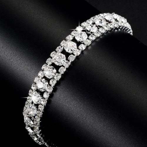 Fashion Hand-woven Beads Rhinestone Bracelets - fashioniworld