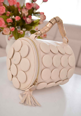 Summer Luxury Tasel Button Bag