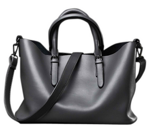High Quality Shoulder Bags Fashion Genuine Leather Messenger Bag Ladies Tote - fashioniworld