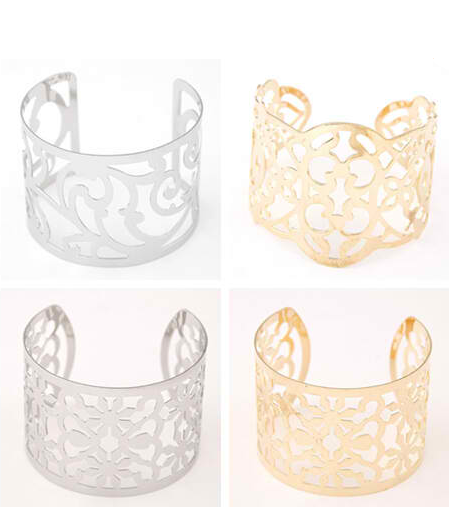 Punk Cuff Bracelets & Bangles for Women - fashioniworld