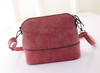 Women Scrub Shoulder Bag Handbag PU Leather Purse Messenger Bag