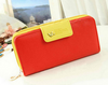 Classic Cute Women's Wallet Button Leather Faux Clutch Lady Purse Long Handbag - fashioniworld