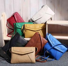 Casual Vintage Small Women Bags Leather Messenger Bag Retro Envelope - fashioniworld