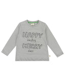 Happy - Long Sleeve Organic Top