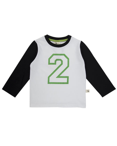 Look at you Two - Long Sleeve Organic Jersey Top