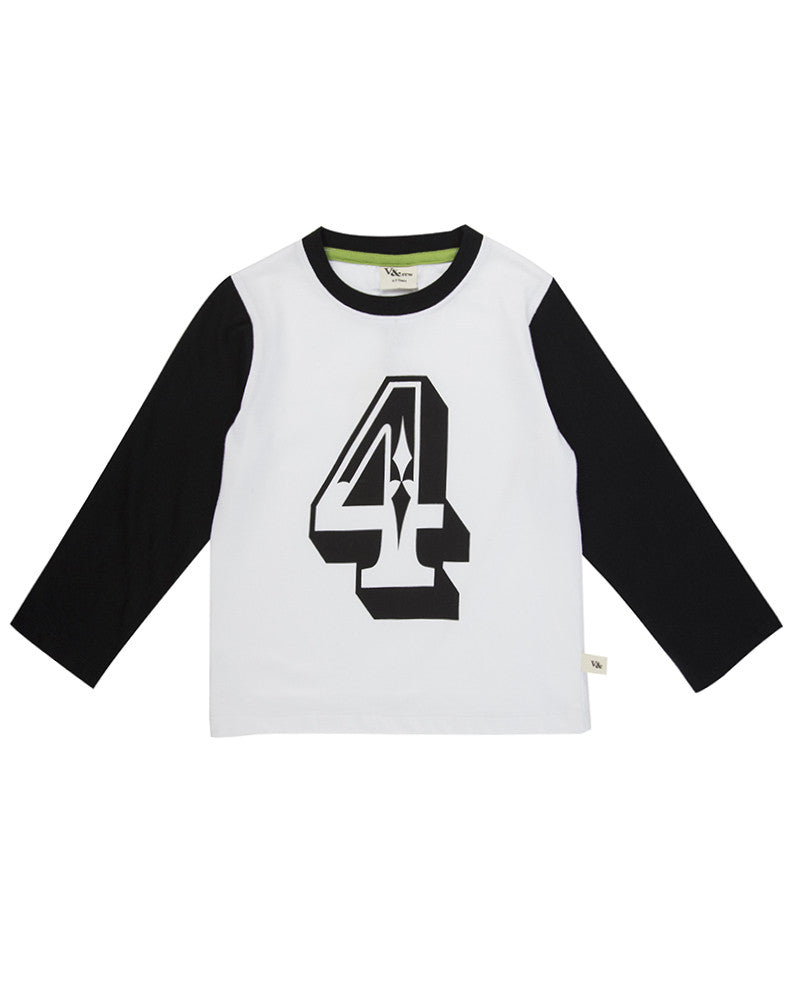 Just 4 Fun Long Sleeve Organic Jersey Top