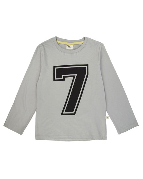 Magnificent 7 - Long Sleeve Organic Top