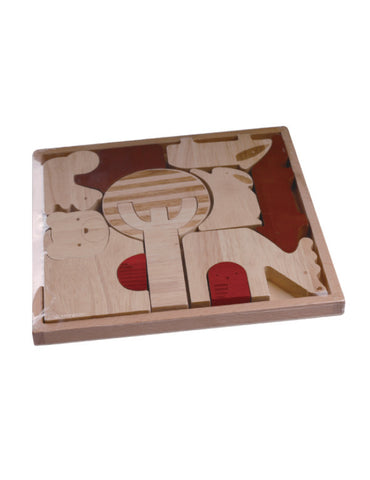 TC5001 | Forest Animal Puzzle (Red Wood Puzzle Series)