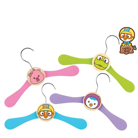 TC8053 | Pororo Clothes Hanger (Set of 4)