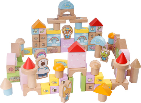 TC8036 | Pororo Wooden Blocks (100 Larges Pieces)