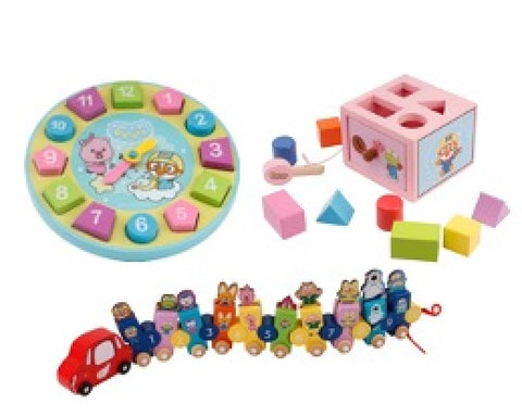 "Pororo ""Shop.com"" Bundle Promo (Pororo Clock, Pororo Number Train and Pororo Magical Box)"