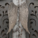 Aged Metal Angel Wings Wall Art