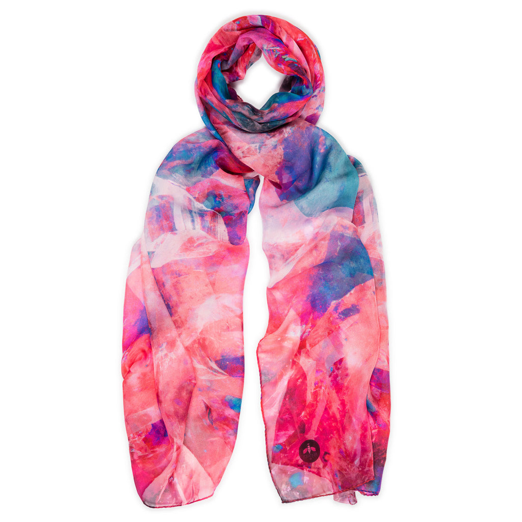 crystal jeod silk scarf from beatrice jenkins