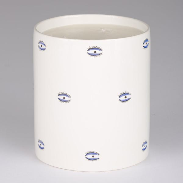 Evil Eye Large Candle