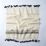 white cotton handwoven set of 4 napkins from cheskie