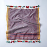 purple cotton handwoven set of 4 napkins from cheskie