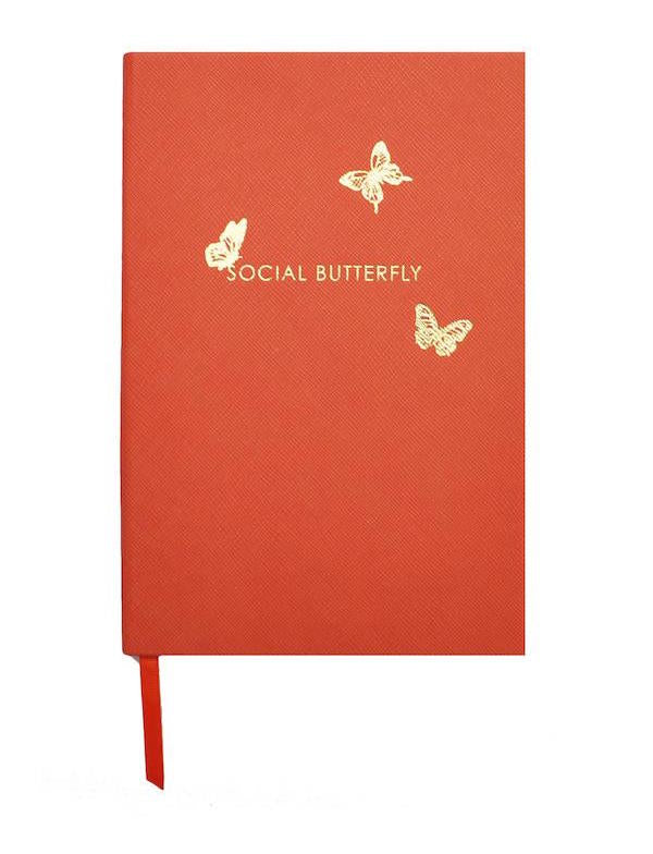 CREEPY CRAWLIES - SOCIAL BUTTERFLY NOTEBOOK