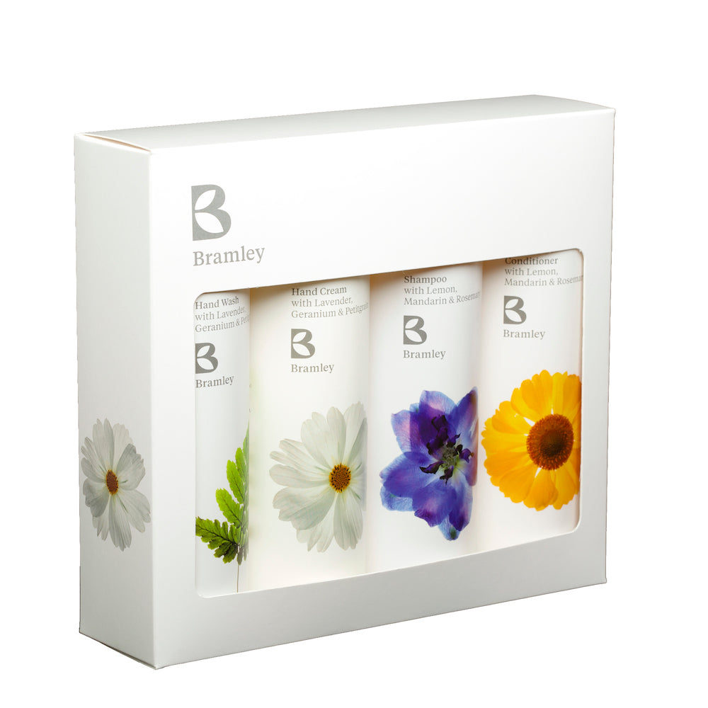 fern hand and hair gift set from bramley