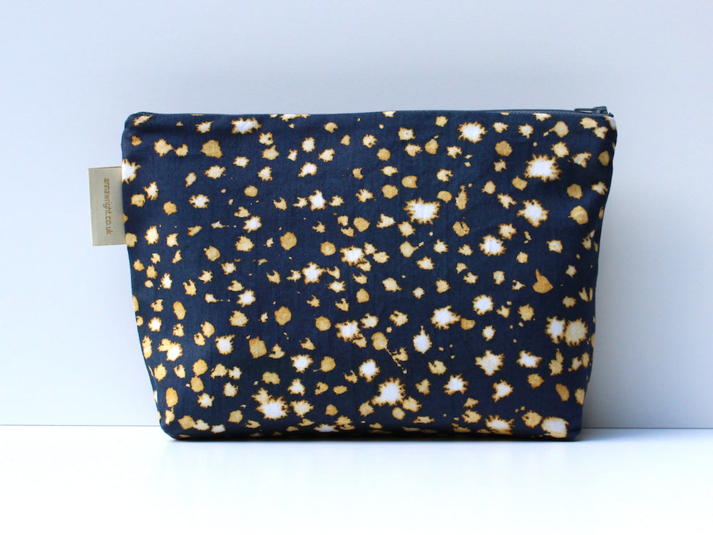 fireflies wash bag from anna wright