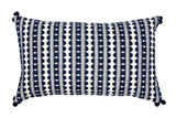 Frida Navy Stripe Cushion