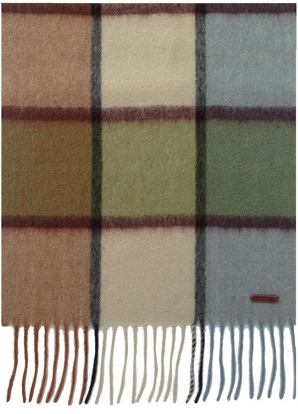 Hexham Patch Check Scarf