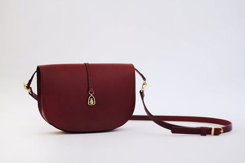 Deep Pomegranate Zipper