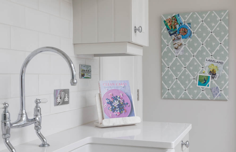 Bumblee Bee print fabric notice board from Handcrafted by Harriet