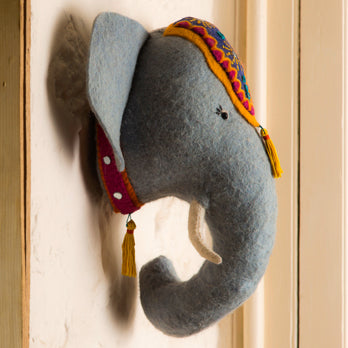 Jumbo the Elephant Wall Head