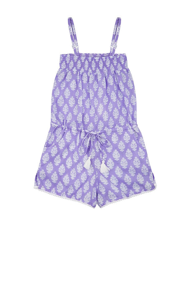 purple playsuit beachwear for girls from mymia