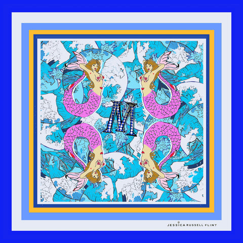 Blue Stars Fabric Noticeboard