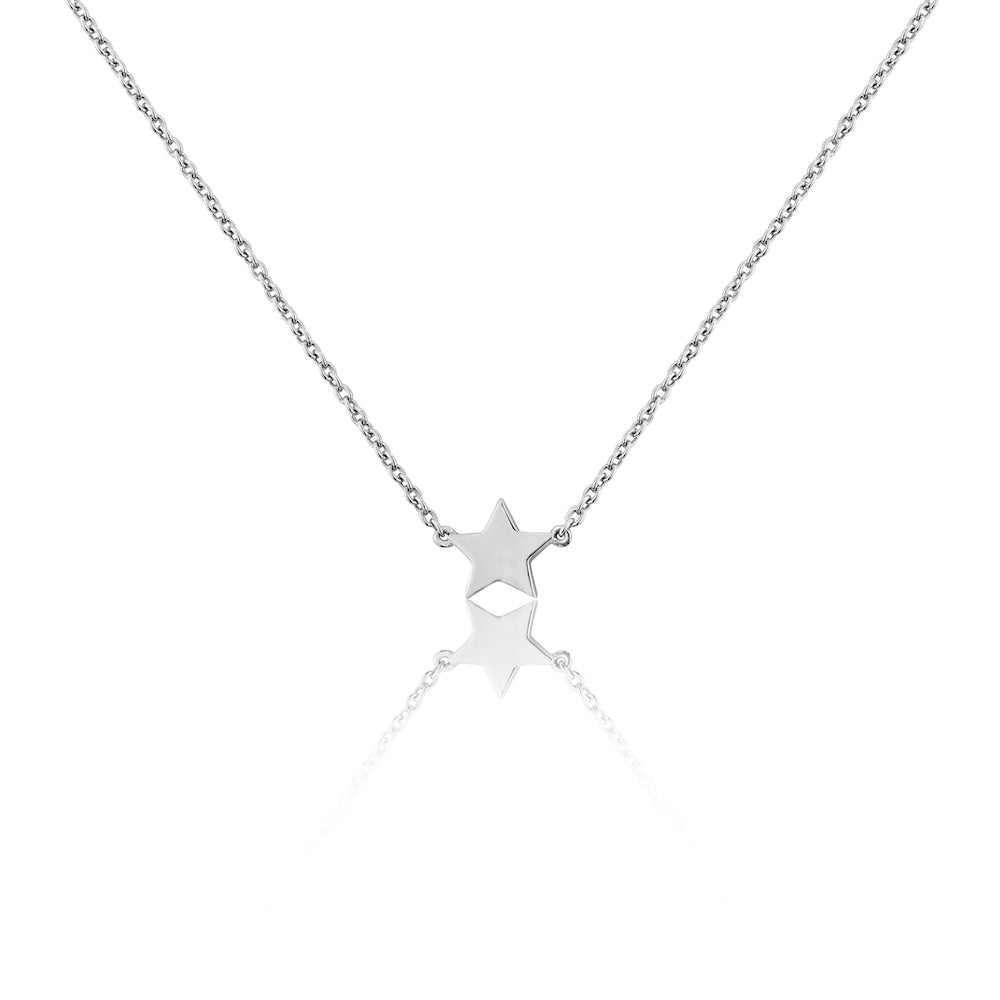 Soho Sterling Silver Star Necklace