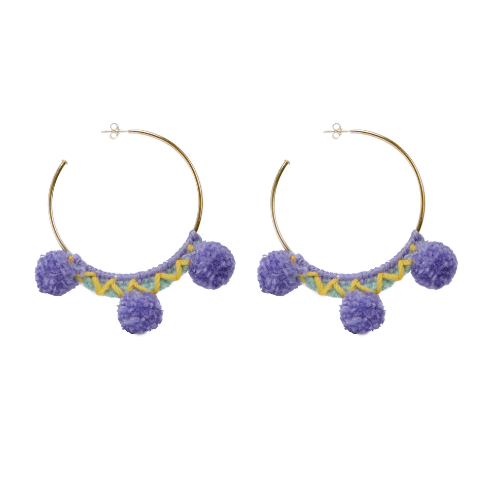 Faboosh Earrings - Lavender