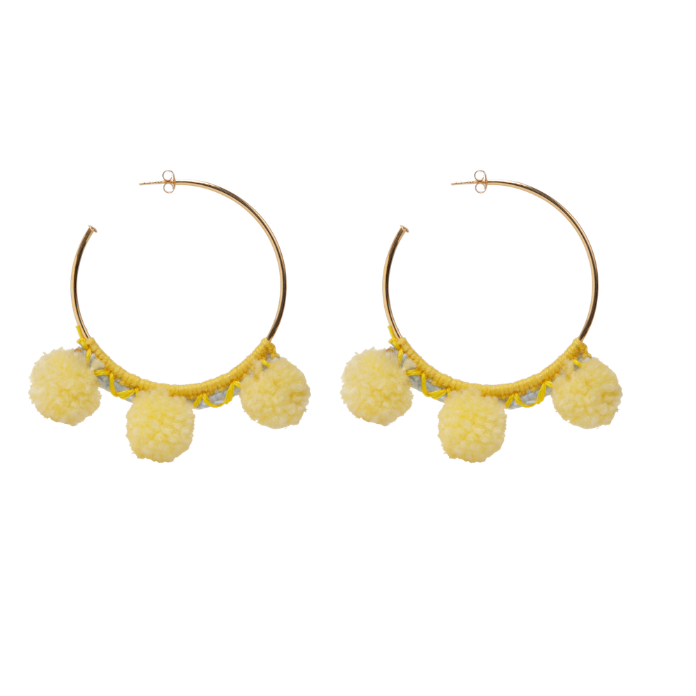 Faboosh Earrings - Yellow