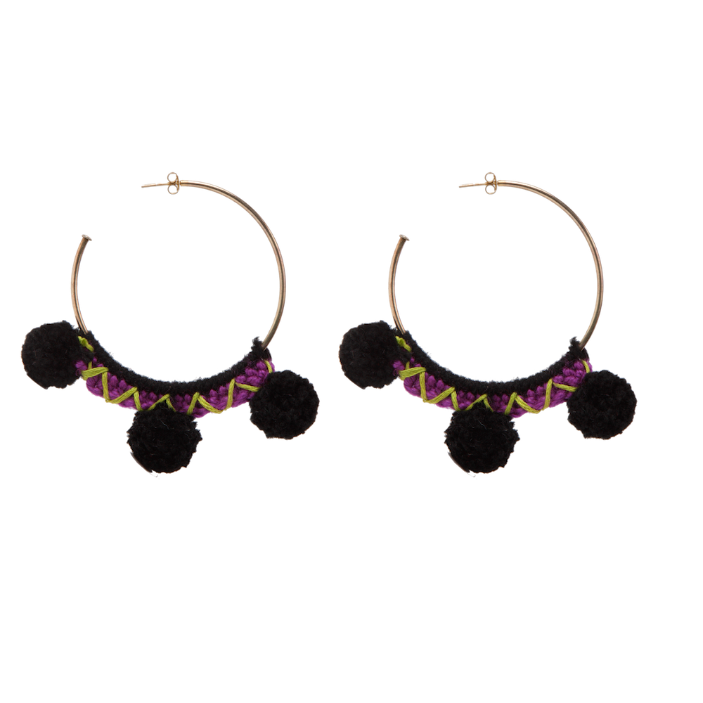 Faboosh Earrings - Black
