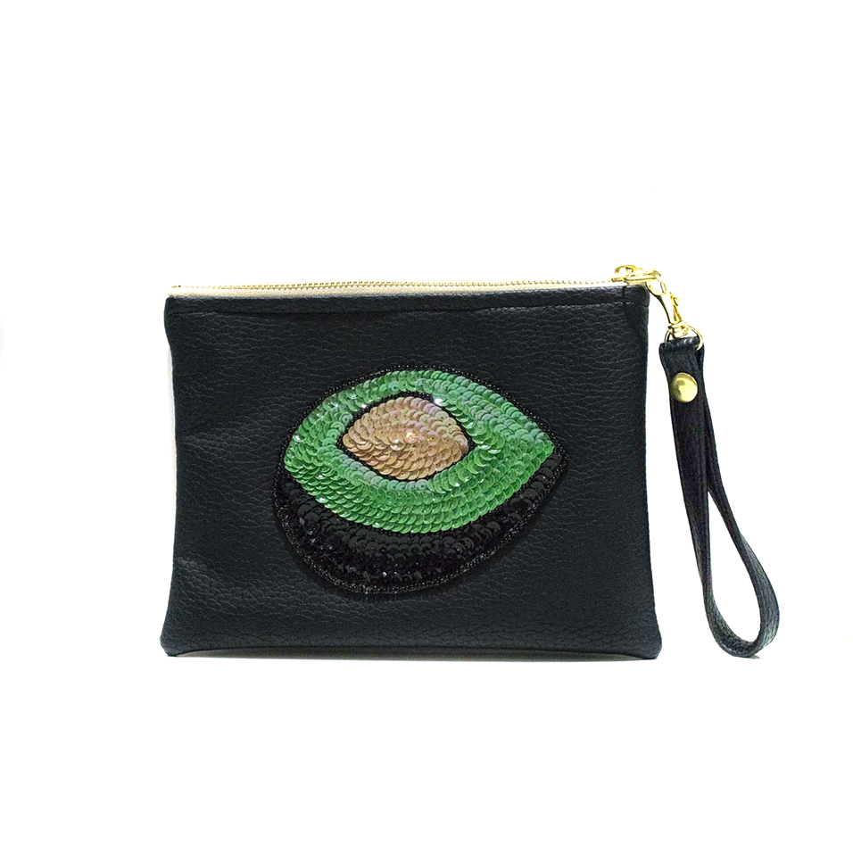 Black Avocado clutch