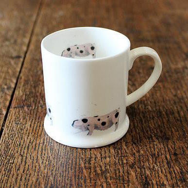 Leaf Napkins - Set of 4, available in pink, green or blue