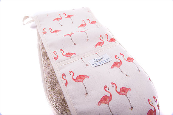 Flamingo Oven Gloves