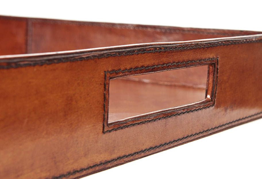 Finest Meynell Leather serving tray – Handpicked by Kate QG53