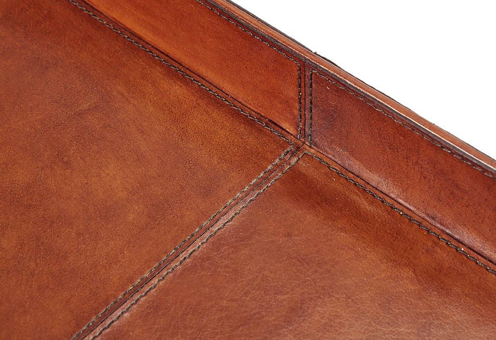 Meynell Leather serving tray